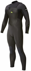 Quiksilver Syncro 3/2 Wetsuit Chest Zip Mens Wetsuit - Grey/Black - New Model!