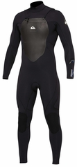 Quiksilver Syncro 4/3 Wetsuit Chest Zip Mens Wetsuit - Black - New Model!