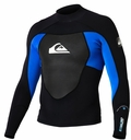 Quiksilver Syncro Jacket 1.5mm Black/Blue 2013