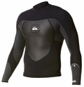 Quiksilver Syncro Jacket 1.5mm Black/Grey - Newest Model!