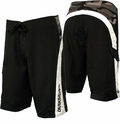 "Quiksliver Cypher Diamond Plated 22"" Boardshorts Black Camo"