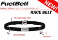 Reflective Race Fuel Belt Black