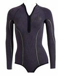 Rip Curl 1mm G-Bomb Long Sleeve Booty FZ Women's Springsuit