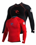 Rip Curl AGGROLITE REVERSIBLE Long Sleeve JACKET Black/Red
