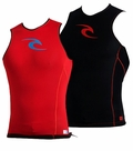 Rip Curl AGGROLITE REVERSIBLE Vest  Black / Red