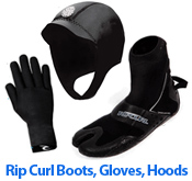 Rip Curl Boots Hood and Gloves