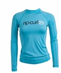 Rip Curl Cloudbreak Women's Long Sleeve Rashguard - Blue