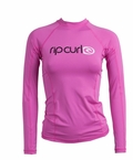 Rip Curl Cloudbreak Women's Long Sleeve Rashguard - Rose