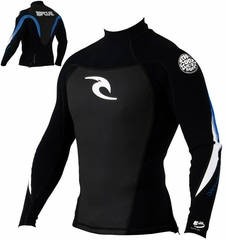 Rip Curl Dawn Patrol 1.5mm Long Sleeve Jacket - Blue Back