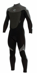 Rip Curl Dawn Patrol 3/2mm Men's Wetsuit Flatlock - BLACK/GREY