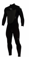 Rip Curl Dawn Patrol 3/2mm Men's Wetsuit Flatlock - BLACK