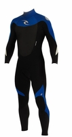 Rip Curl Dawn Patrol 3/2mm Men's Wetsuit GBS -BLACK/BLUE - NEW 2013 Model!