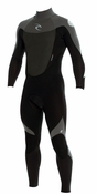 Rip Curl Dawn Patrol 4/3mm Men's Wetsuit GBS -  Black/Grey
