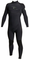 Rip Curl E-Bomb 4/3mm Men's Wetsuit Back Zip Black