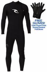 Rip Curl E-Bomb Pro 3/2 Mens Wetsuit Chest Zip - NEW 2013!