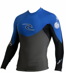 Rip Curl E-BOMB PRO Long Sleeve JACKET 1mm  Blue