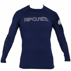 Rip Curl Freelite Long Sleeve Men's Rashguard - Navy Blue