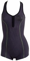 Rip Curl G-Bomb Cross Over Women's Springsuit 1mm - Charcoal