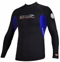 Rip Curl Hotskins Jacket  .5mm Long Sleeve - Black w/Blue