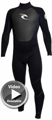 Rip Curl Insulator Core Wetsuit 4/3mm Back Zip