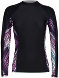 Rip Curl Mirage Women's Long Sleeve Rashguard 50+ UV Protection - Black