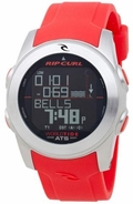 Rip Curl Pipeline World Tide Watch - RED