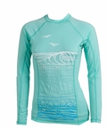 Rip Curl Surf Chica Women's Long Sleeve Rashguard - Ice Green