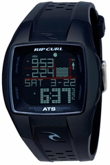 Rip Curl Trestles Oceansearch Tide Watch Black/Black
