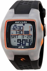 Rip Curl Trestles Oceansearch Tide Watch Black/Grey/Orange