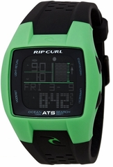 Rip Curl Trestles Oceansearch Tide Watch Green