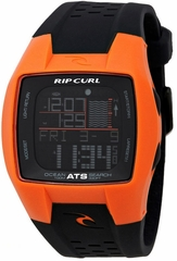 Rip Curl Trestles Oceansearch Tide Watch Orange