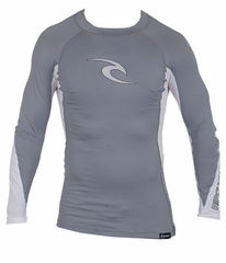 Rip Curl Wave Long Sleeve Men's Rashguard - Grey