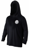 Rip Curl Wettie Hooded Long Sleeve Surf Shirt - Black