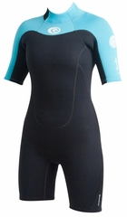 Rip Curl Women's Freelite 2mm Springsuit - Black/Blue