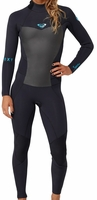 Roxy Syncro Womens Wetsuit 5/4/3mm Back Zip - Black