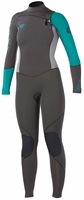 Roxy Cypher Women's Wetsuit 4/3mm Full Chest Zip Wetsuit