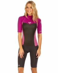 Roxy GIRLS SYNCRO WETSUIT 2mm Springsuit Pink