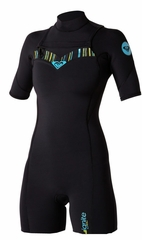 Roxy Woman's 2mm Ignite Chest Zip Springsuit