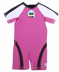 Roxy Syncro 1.5mm Girls Toddler Springsuit - Pink
