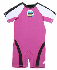 Roxy Syncro 1.5mm Girls Toddler Springsuit - Pink - 2013!
