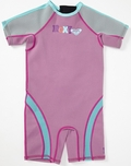 Roxy Syncro 1.5mm Girls Toddler Springsuit - Pink/Blue