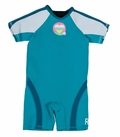 Roxy Syncro 1.5mm Girls Toddler Springsuit - Turquiose