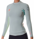 Roxy SYNCRO 1.5MM L/SL Womens Jacket - Grey/Blue/Green