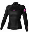 Roxy SYNCRO 1.5MM LONG SLEEVE JACKET Black