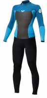Roxy SYNCRO 3/2mm KIDS Wetsuit Back Zip Flatlock
