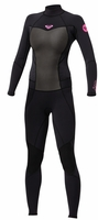 Roxy SYNCRO 4/3 BACK ZIP WETSUIT GBS - New Style and Design!