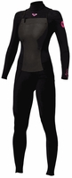 Roxy Syncro 4/3mm GBS Chest Zip Womens Wetsuit New Design 2013