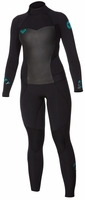Roxy Syncro 5/4mm Women's Full Wetsuit Black