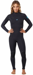 Roxy Woman's Ignite 4/3mm Full Chest Zip Wetsuit - Newest Model