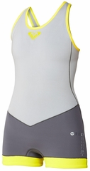 Roxy XY Springsuit Cross Back Short John Wetsuit Women